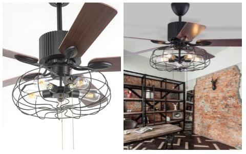 Room Decor Ideas Retro Ceiling Fan