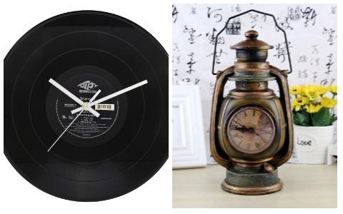 Room Decor Ideas Retro Clocks
