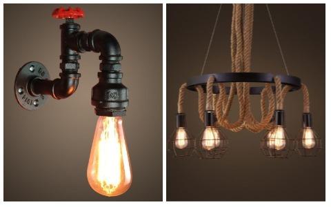 Room Decor Ideas Retro Lights