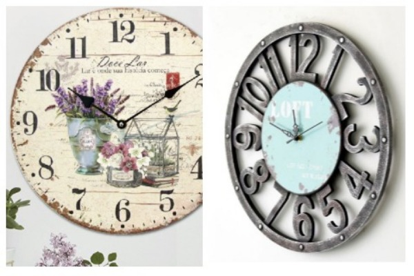 Room Decor Ideas Rustic Clock