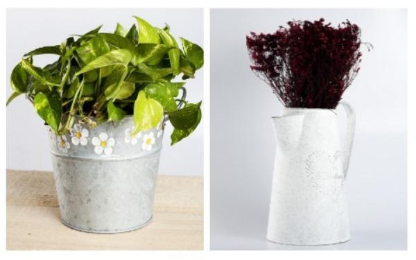 Room Decor Ideas Rustic Flower Pot
