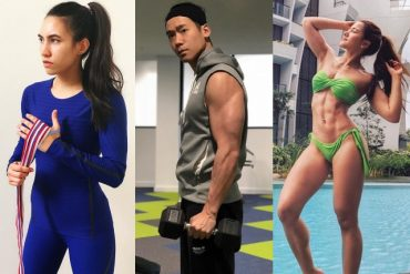 Singapore Celebrity Fitness Influencers