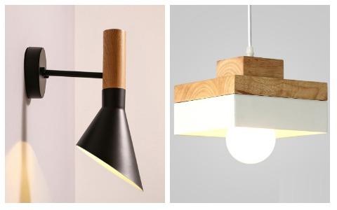 Room Decor Ideas Wooden Lights