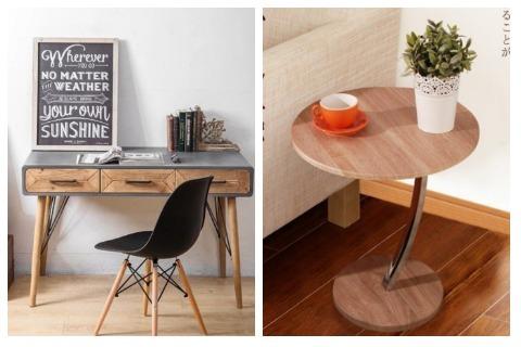Room Decor Ideas Wooden Tables