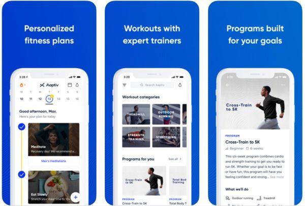 best fitness app aaptiv