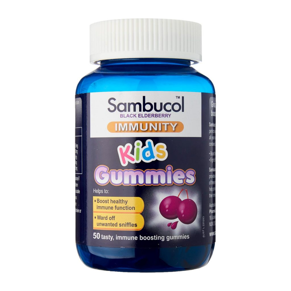 Sambucol Immunity Kids Gummies
