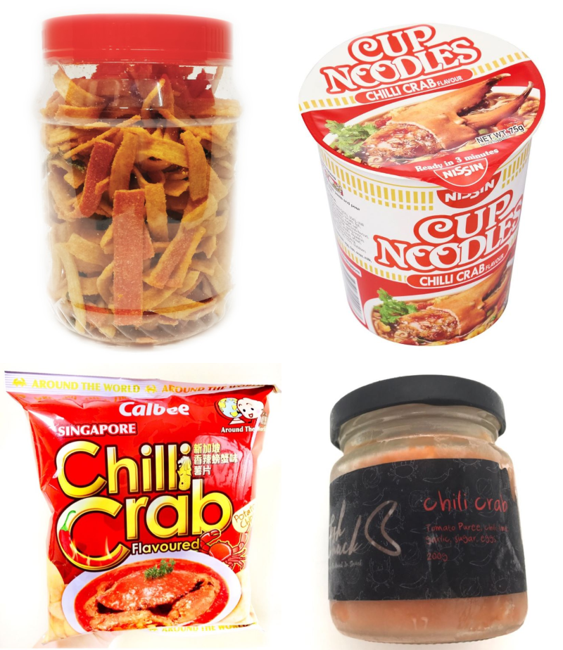 chili crab snacks singapore gifts for overseas friends