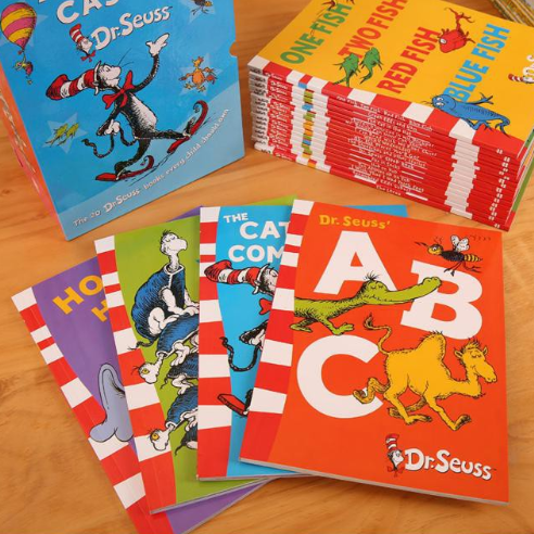 Dr Seuss Kids Books
