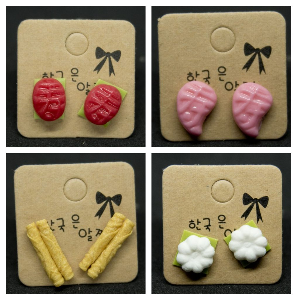 local food earrings singapore gift