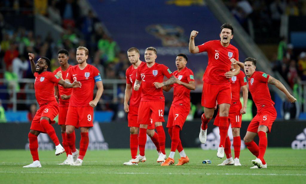 England Win Shootout