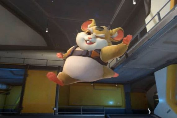 overwatch's new hero hammond wrecking ball featured