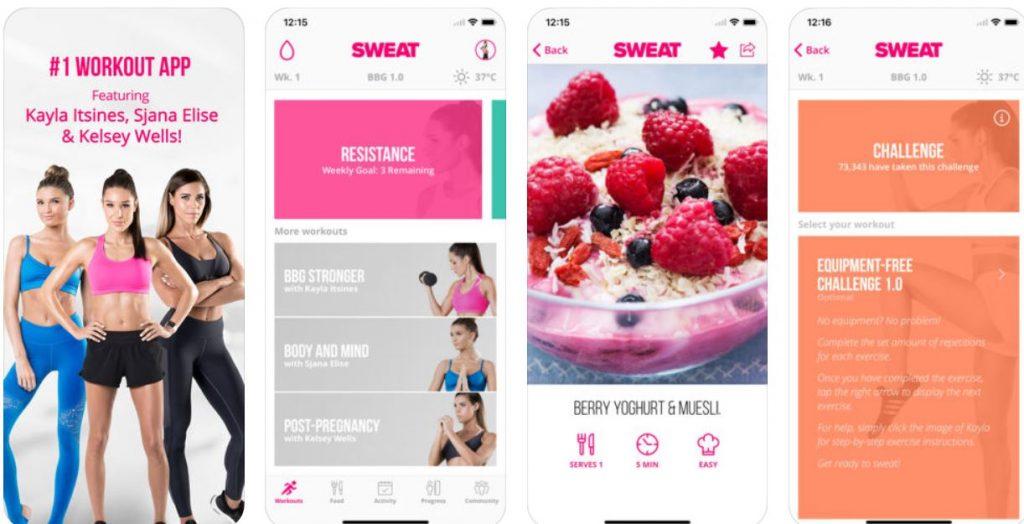 Kayla Fitness App