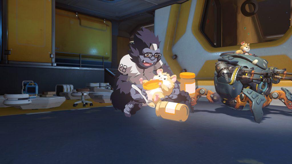 overwatch new hero hammond wrecking ball friend