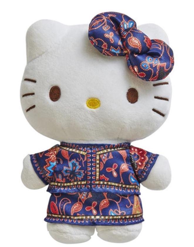hello kitty singapore girl plushie