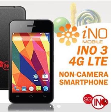 iNo 3 non-camera smartphone