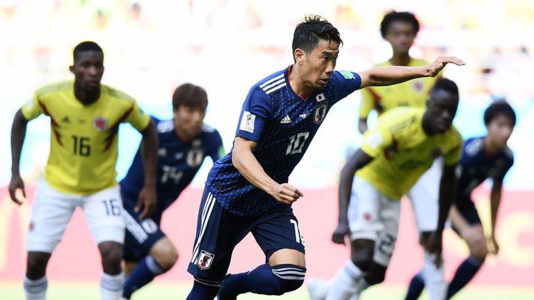 Japan vs. Colombia