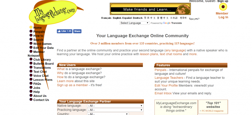 Language Exchange For Exchange Students