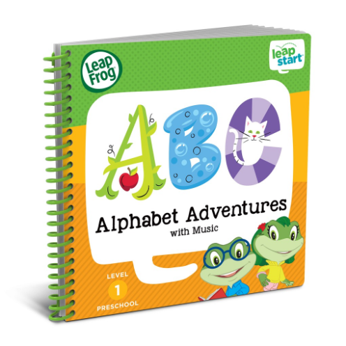 Leapfrong Alphabet Adventures Kids' Books