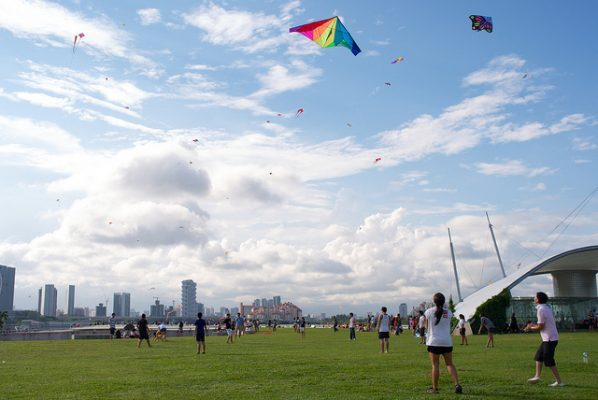 marina barrage things to do in Singapore with kids