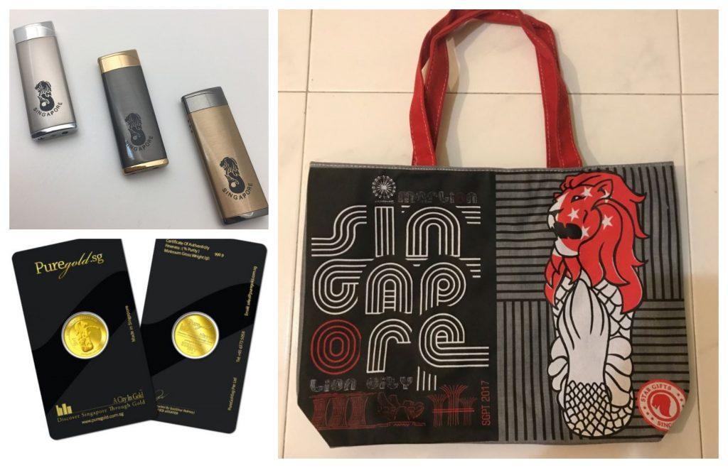 merlion singaporean souvenir snack gift guide