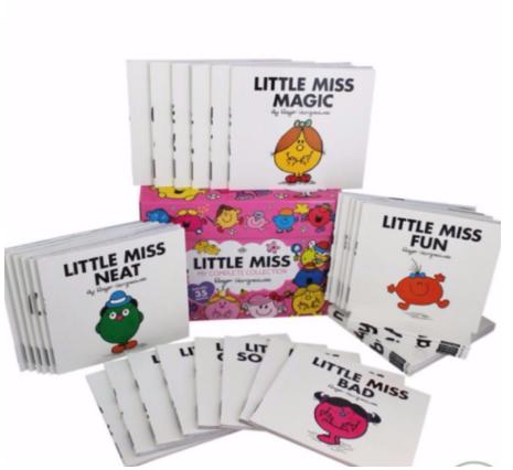 mr men and little miss best children's books