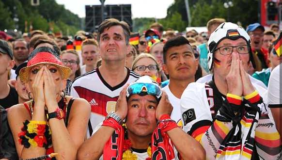 Sad German Fans