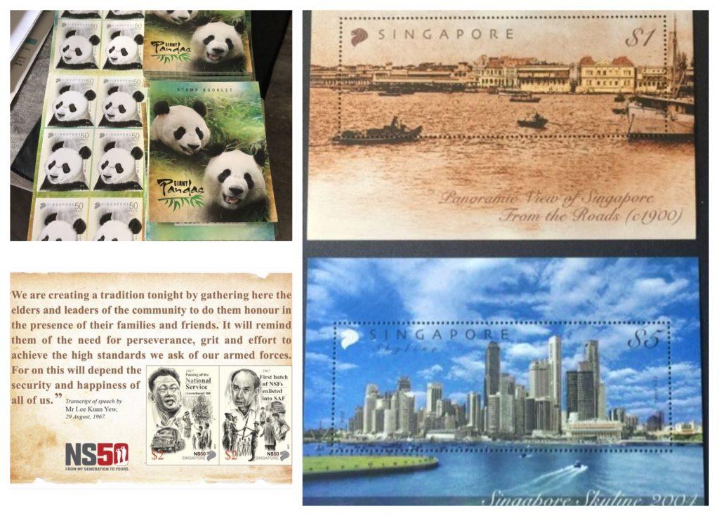 stamps singaporean souvenir snack gift guide