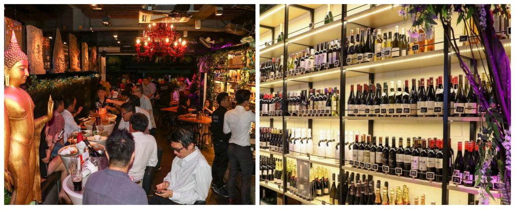 wine tapas friends holland village bars Singapore nightlife