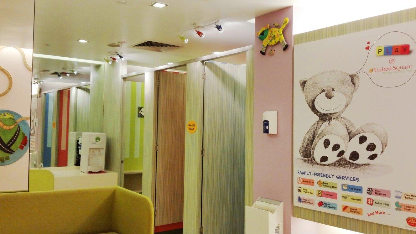 nursing rooms in singapore