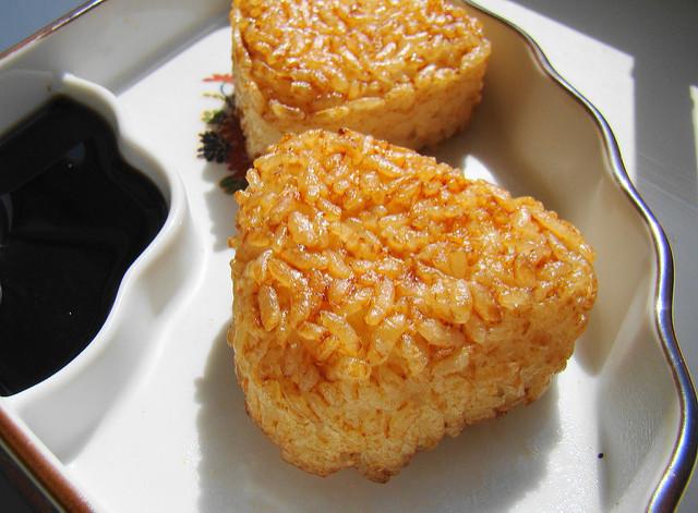 yaki onigiri meal prep