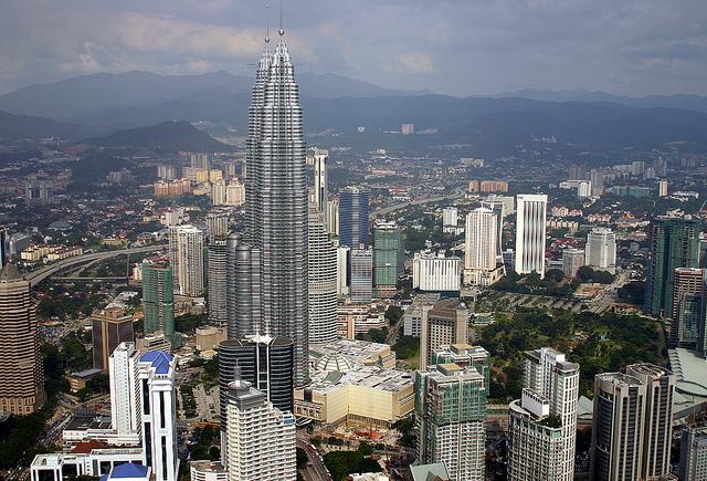 malaysia twin tower