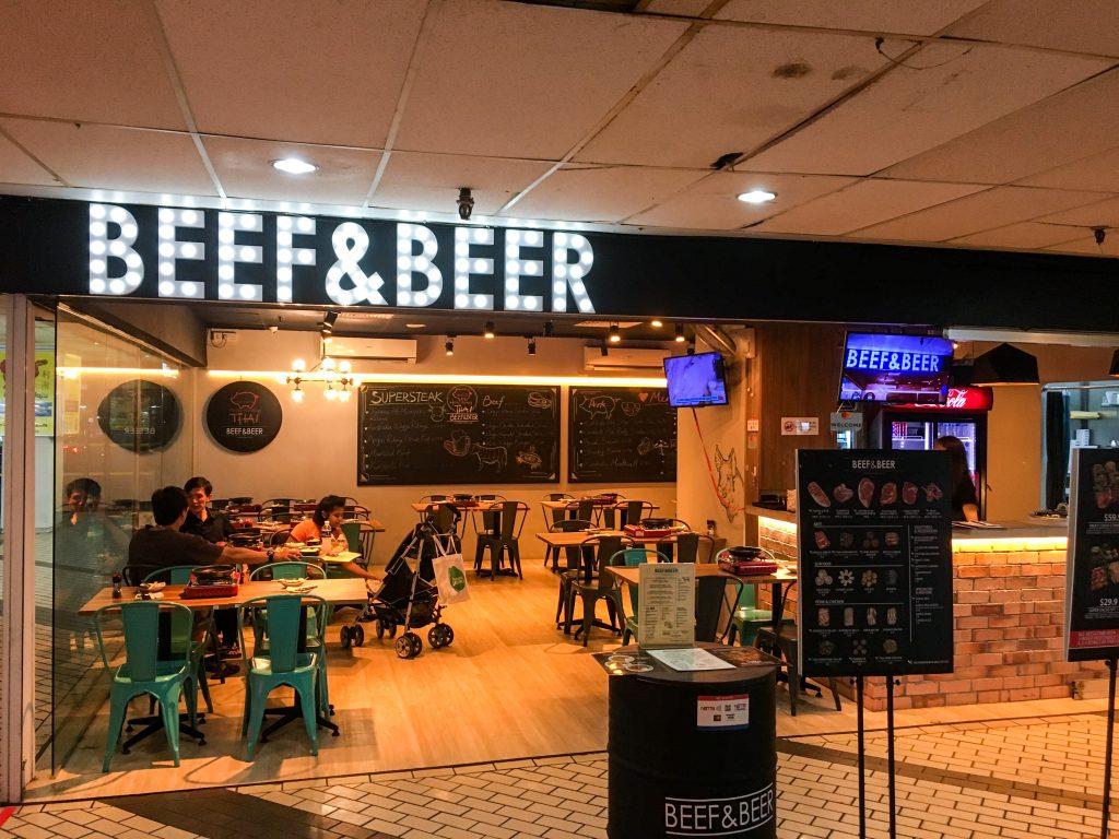 Beef and Beer Golden Mile Complex Thai Food