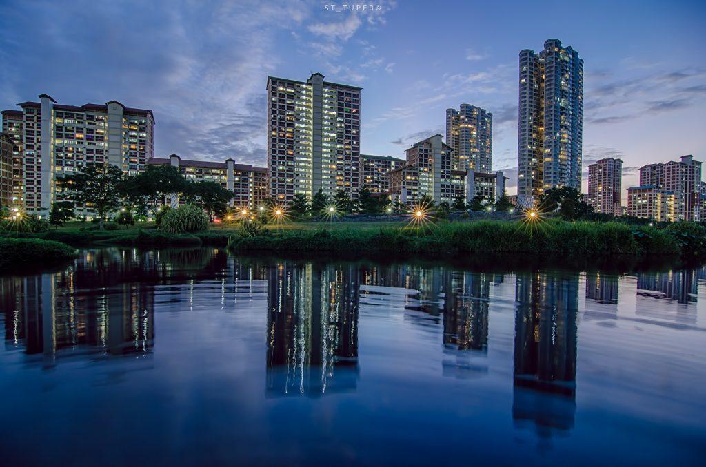 Bishan Park stargazing in Singapore