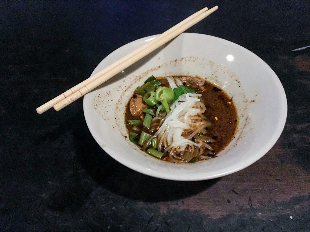 Boat Noodles Noodle Cafe Golden Mile Thai food