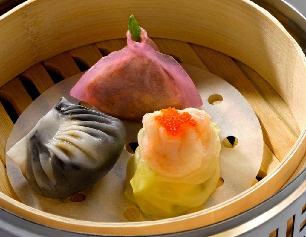 Cherry Garden dim sum buffet Singapore