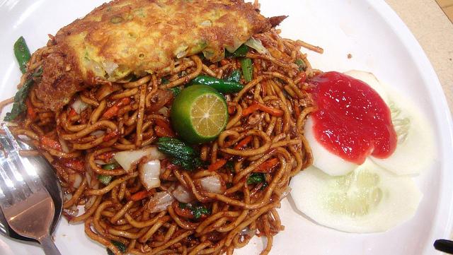 Mee Goreng Breakfast Singapore