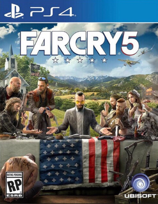 PS4 Games Far Cry 5