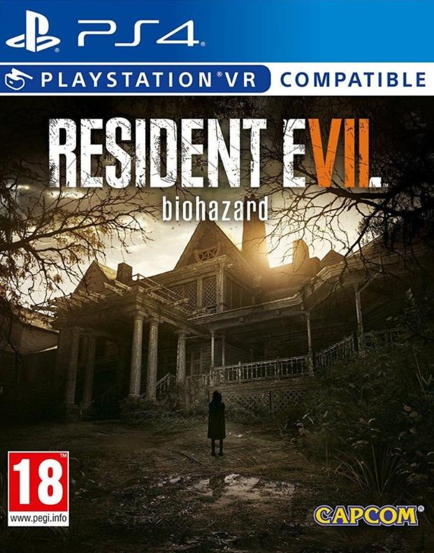 PS4 Games Resident Evil 7