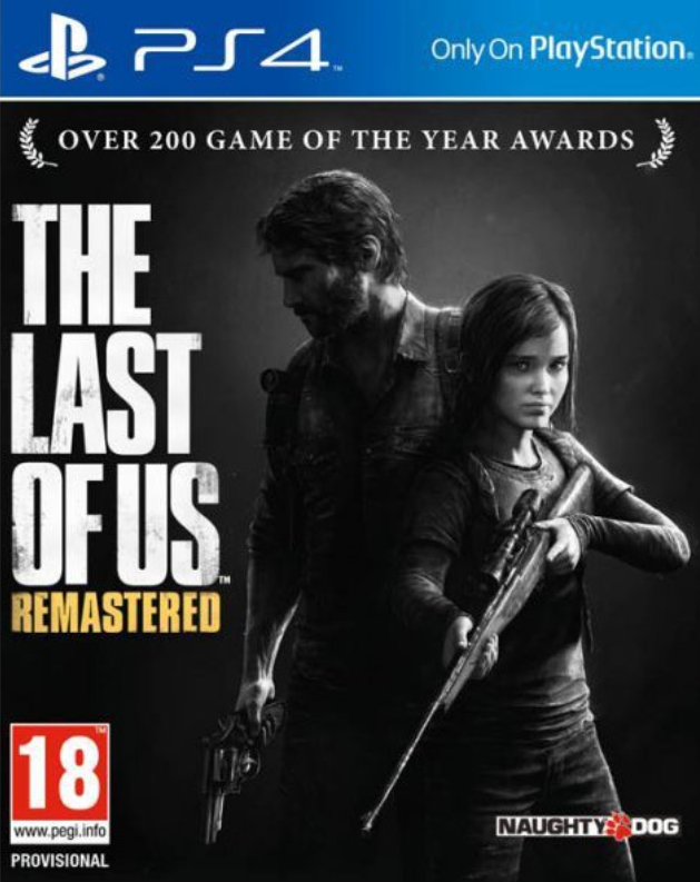 PS4 Games The Last of Us Remastered