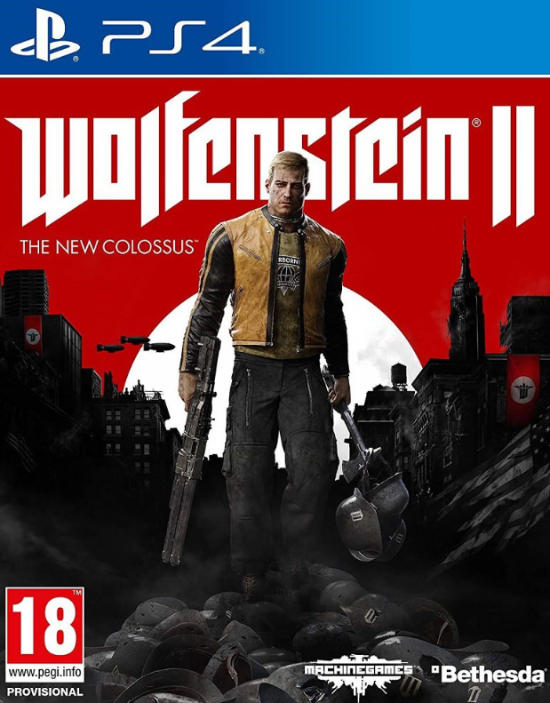 PS4 Games Wolfenstein 2