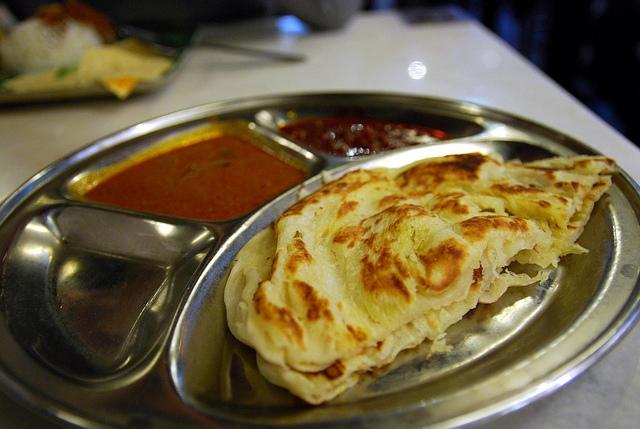 Roti Prata Breakfast Singapore
