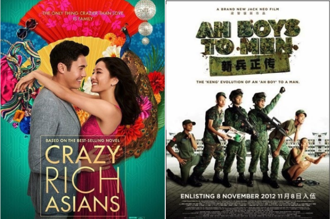 movies filmed in singapore