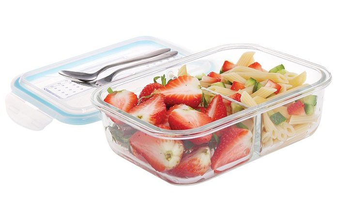 glass container for meal prep
