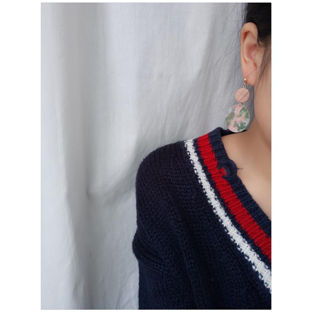 Acetate Earring