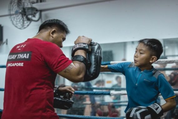 featured hilltop academy muay thai gyms in singapore
