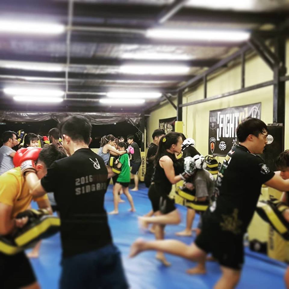 fight g muay thai gyms in singapore