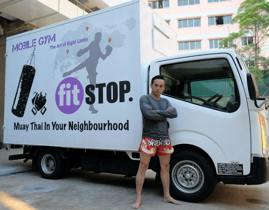 fitstop muay thai gyms in singapore