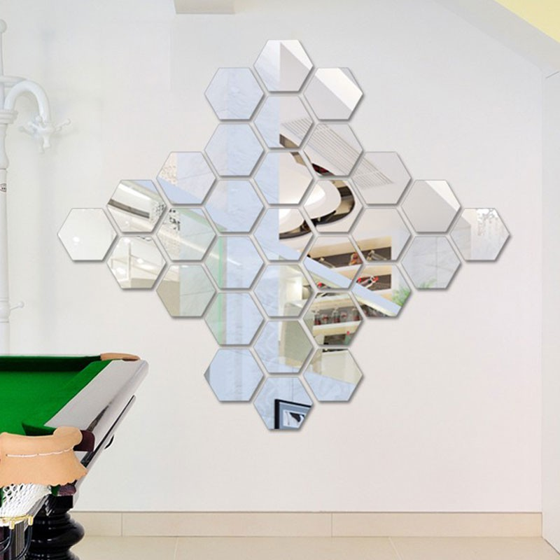 Hexagonal Mirrors