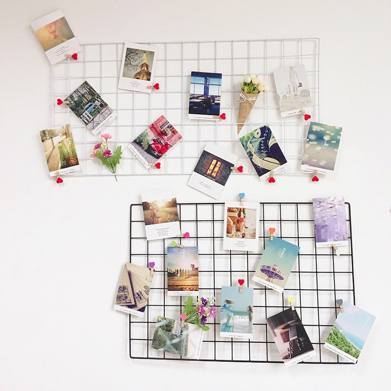 Wire Mesh Photo Holder