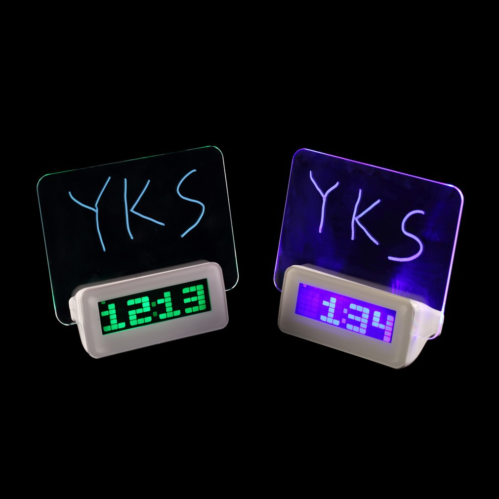 LED Message Clock